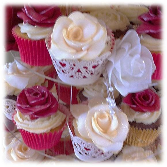 handmade sugar roses with dusted edging from 50p each.jpg